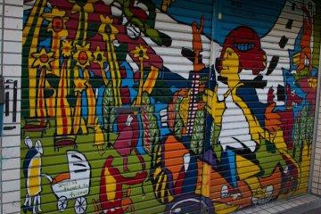 <p>Street art</p>