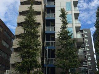 Gedung Apartemen sepanjang Meiji Dori