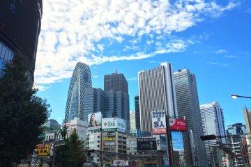 Shinjuku: Lihat ke atas!
