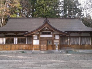 Shamusho (the shrine's administrative office).