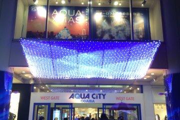 <p>Aqua City</p>