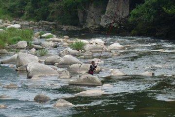 fishing in local streams