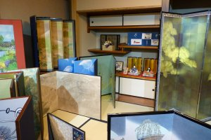 Exposition de byōbu