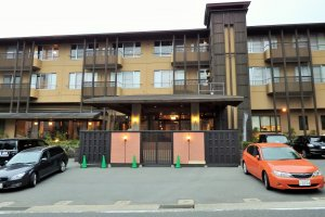 The Mount View Hakone has been beautifully remodeled inside and out.