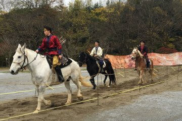 Traditional Korean Mounted Archery