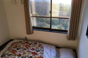 My bed room has killer Mt. Fuji view