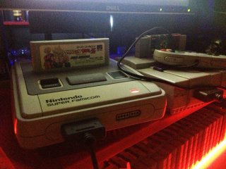Say hi to Super Famicom, in which I spent most of my time in this bar with
