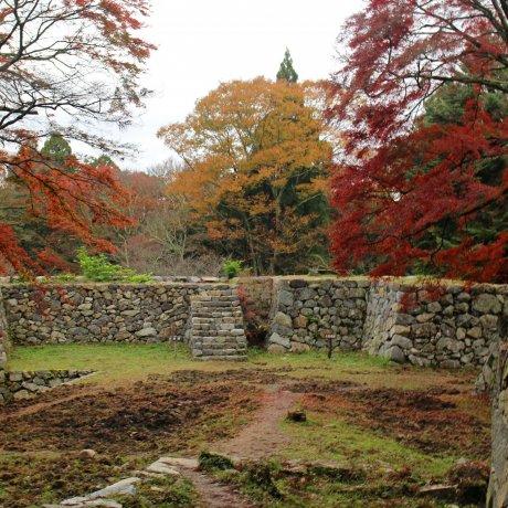 Takatori Castle Ruins in Nara