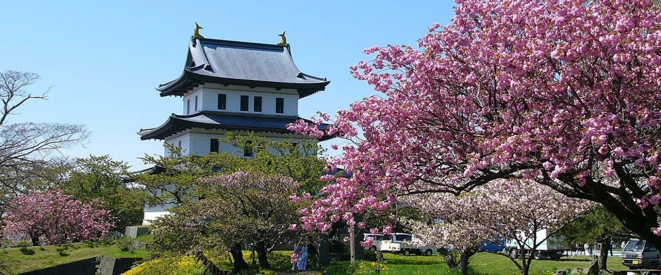 The castle grounds are one of the Top 100 Cherry Blossom Spots in Japan