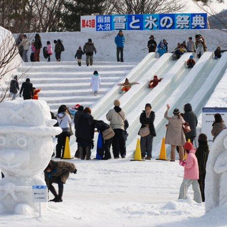 Festival Neve & Gelo Onuma Hakodate
