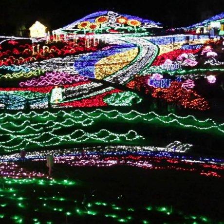 งานเทศกาลประดับไฟฤดูหนาวที่สวน Mannou