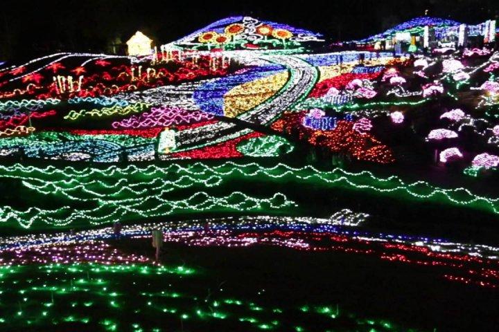 Winter Illumination in Mannou Park