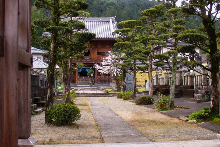 Temple Eikoku à Hitoyoshi (Kyûshû)
