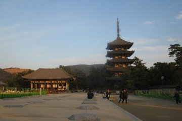 Tokondo and the five story pagoda