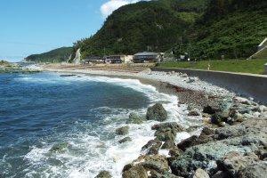 Along the Northern Noto Peninsula coast