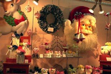 งานประดับไฟคริสมาสในชินจุกุ