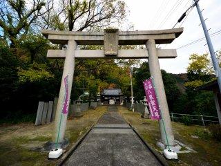 八栗寺参道