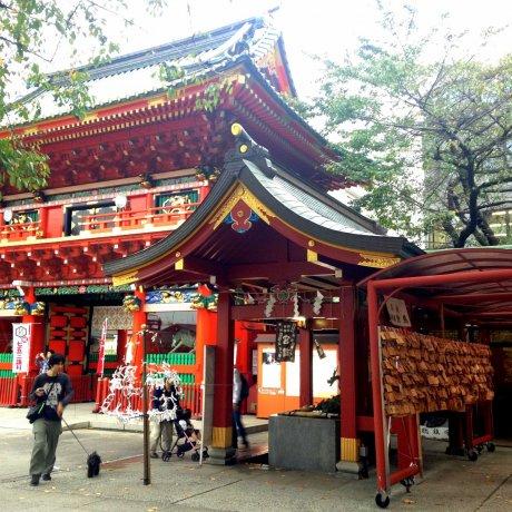 Tech Protection at Kanda Myojin Shrine