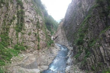 Kiyotsu Gorge in Tokamachi
