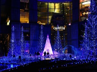 The theme of the illumination in 2015 is Canyon D'Azur.