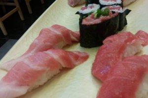 ซูชิ เดินหน้าลุย(กิน) Sushi Sanmai