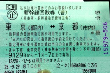 "<p><span style=""line-height: 20.8px;"">Discount stores like Tokai can sell train vouchers like this which can be exchanged for the train ticket at the Shinkansen booking office at the train station.</span></p>"