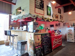 Enter and 'time-slip' into a 50's American diner