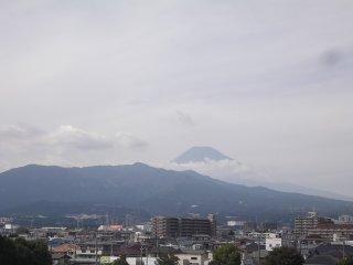 Depuis le toit du centre commercial Sun to Moon à Mishima