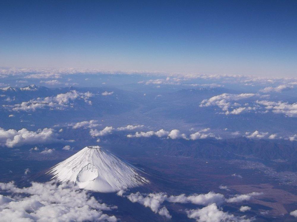 Lors de mon vol pour Okinawa