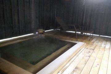 <p>ที่อาบน้ำกลางแจ้งแห่งใหม่</p>