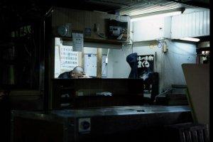 Tsukiji after dark