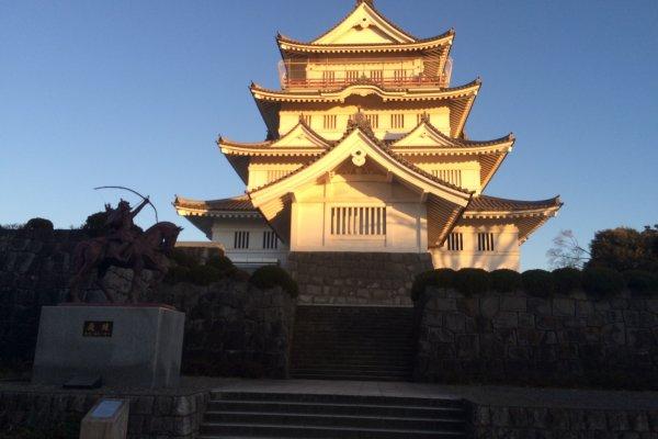 Chiba Castle.