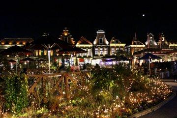 빛나는 밤의 하우스텐보스