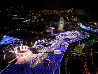 """This is the ''Kingdom of Flowers & Lights""""!"""