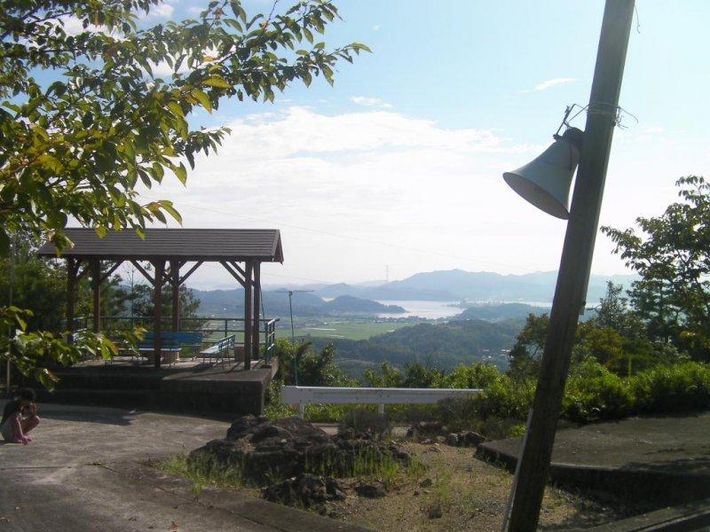 View from Takaosan