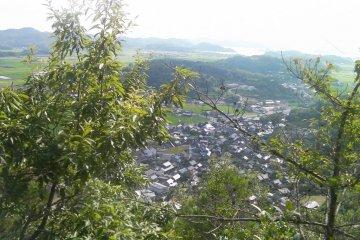 Shukumo Village from Takaosan