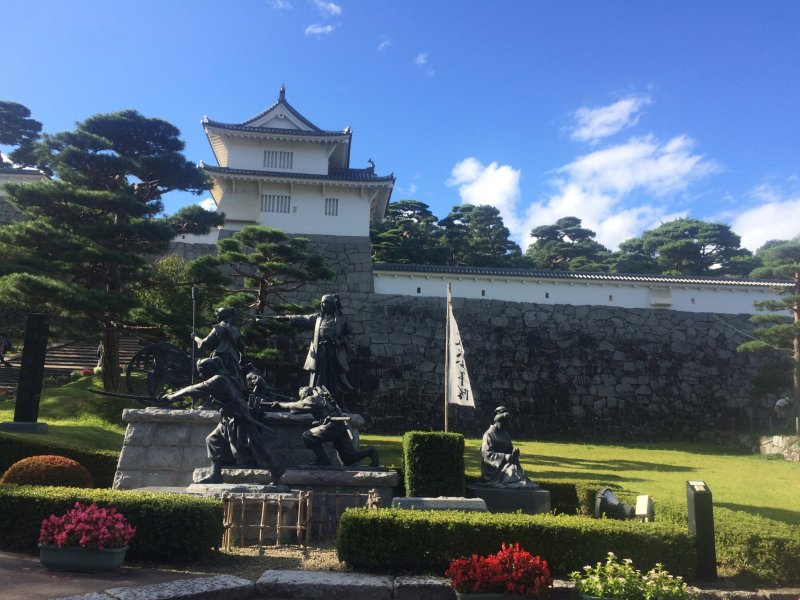 <p>The entrance of Nihonmatsu Castle, also known as Kumiga-jo.</p>