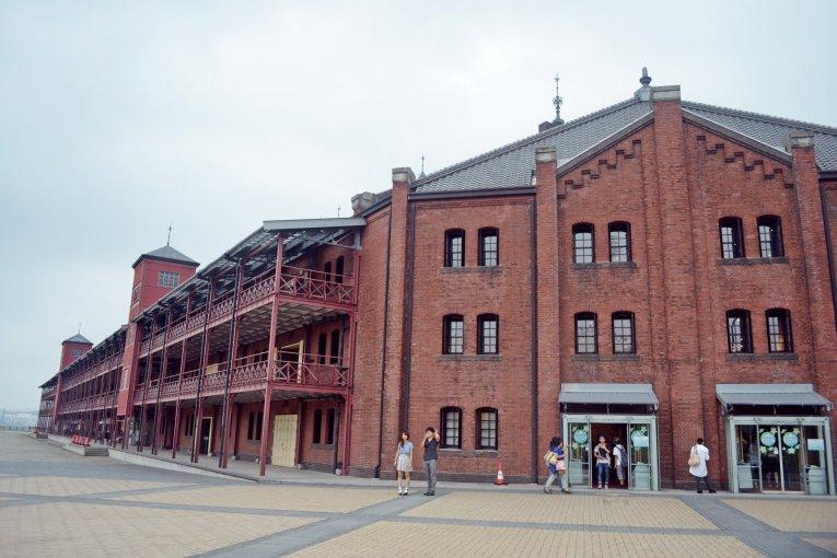 อาคาร Yokohama Red Brick Warehouse