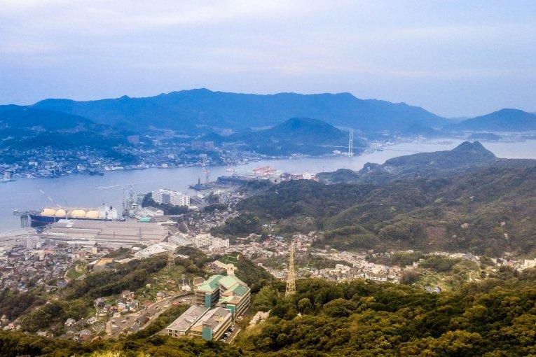 Nagasaki's  Mount Inasa