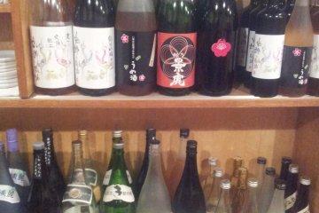 Great range of local booze