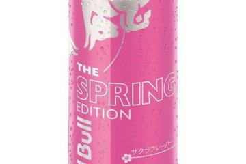 """The Spring Edition"" กระทิงแดงใหม่รสซากุระ"