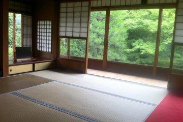 Be still at a traditional ryokan