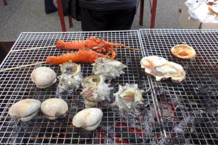 ตลาดอาหารทะเลที่ท่าเรือ O'hare