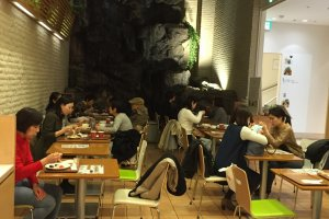 Interior of Dorobushi Kitchen