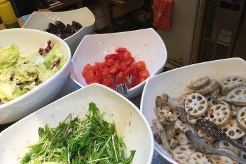Prasmanan Organik Sehat di Ginza