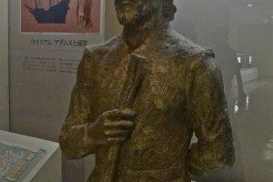 ウィリアム・アダムス像(横須賀市自然人文博物館)