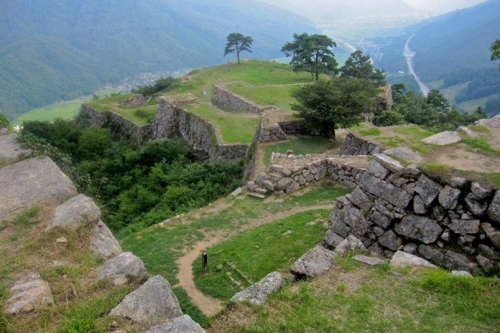 The Ruins of Takeda Castle