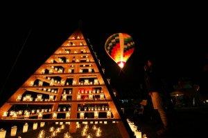 Candle craft and hot air ballooning