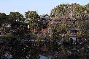 Ryusen-en garden, next to Sano Art Museum
