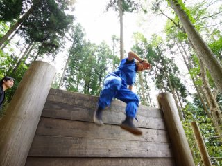 Obstacle courses for climbing, mental training, infiltration and more designed for children and adults alike